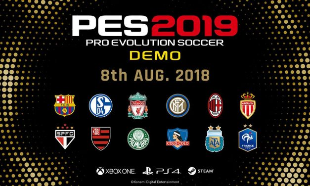 Ya disponible la demo de PES 2019
